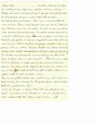 1988 02.08 Mom letter pt.1