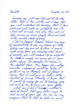 1993 12.30 Mom letter to Danielle and Walter pt.1