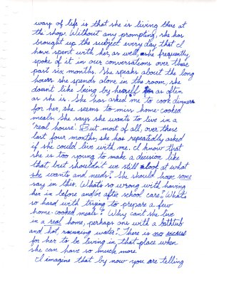1993 12.30 Mom letter to Danielle and Walter pt.5