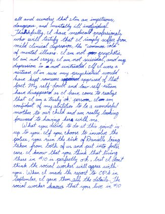 1993 12.30 Mom letter to Danielle and Walter pt.6