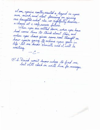 1993 12.30 Mom letter to Danielle and Walter pt.8