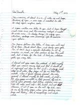 2006 05.02 Mom letter pt.1